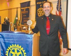 Francisco Pessoa Presidente do Rotary