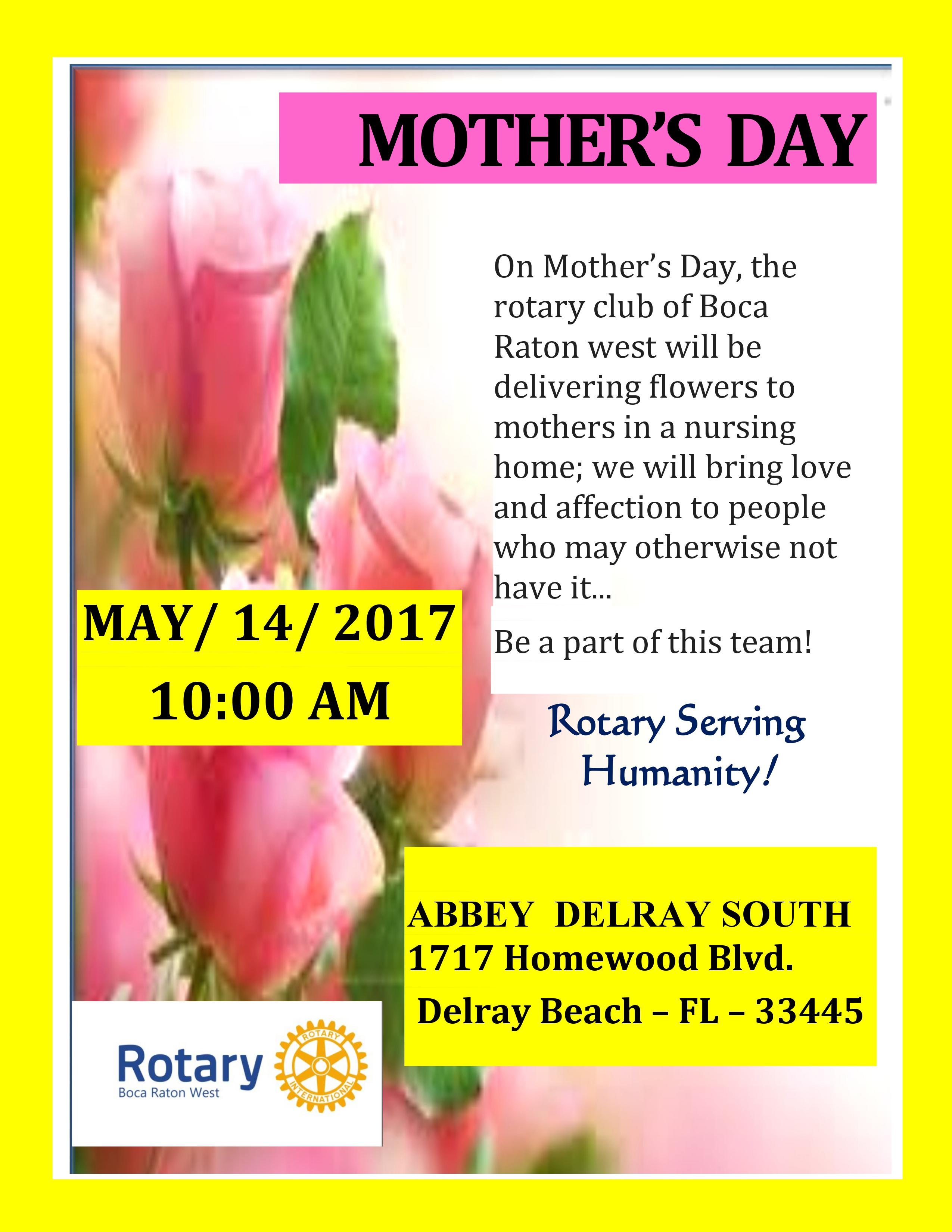 Mothers Day flyer 2017
