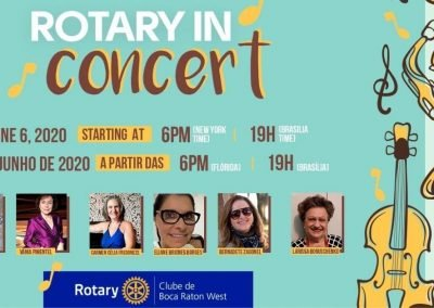 Projeto Rotary in Concert