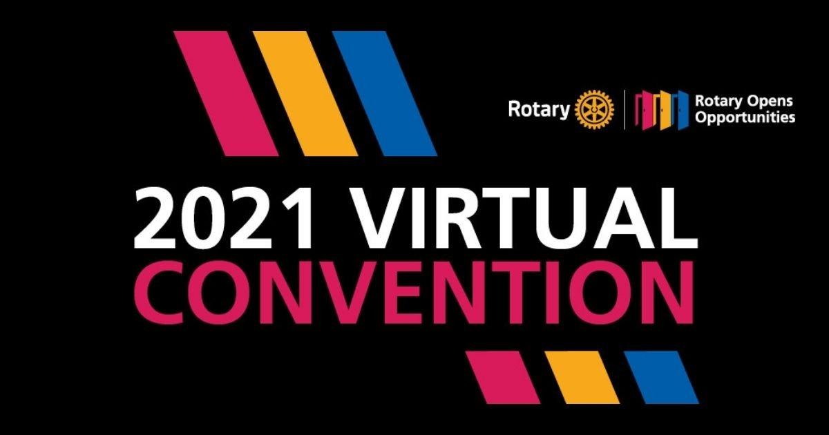 2021 Convenção Virtual do Rotary
