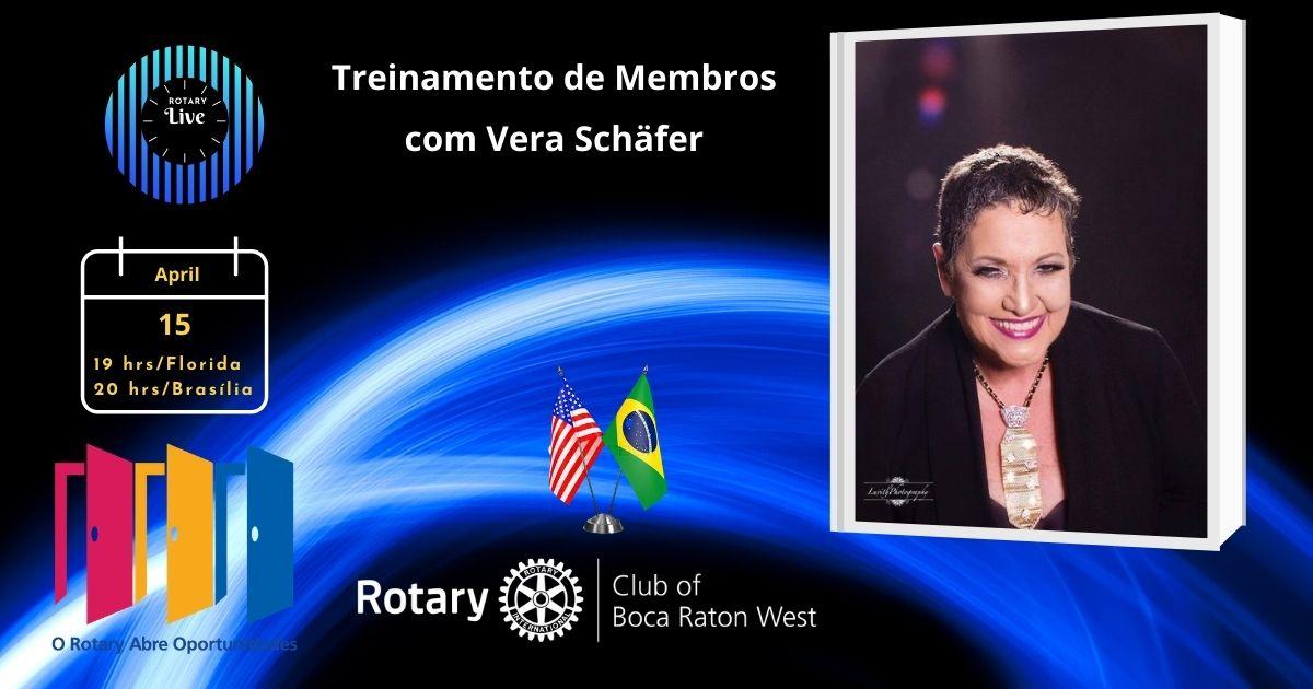 Treinamento de Membros com Vera Schäfer