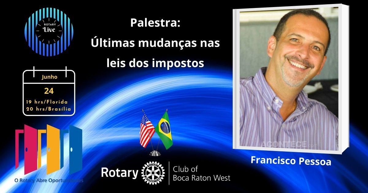 Palestra com Francisco Pessoa
