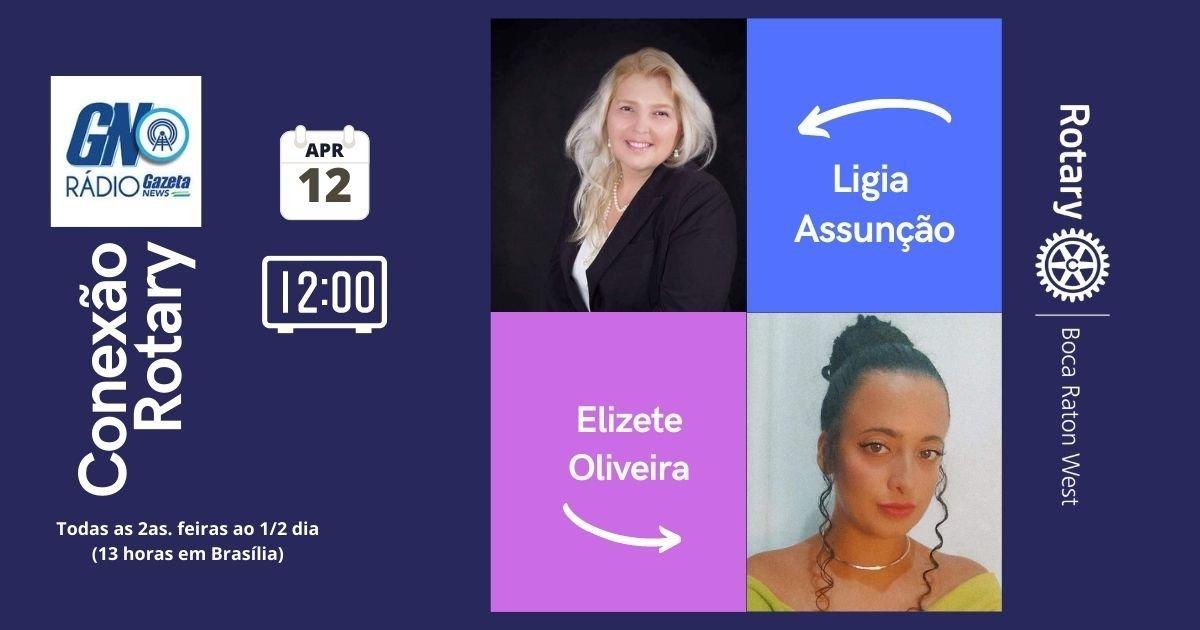 Conexao Rotary com Elizete Oliveira