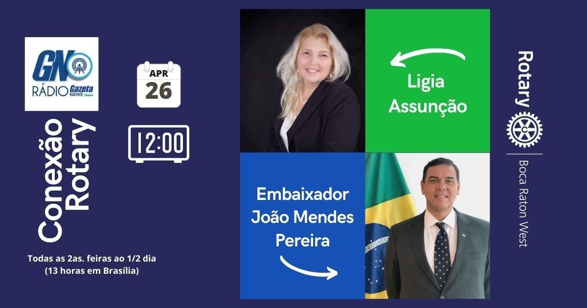 Embaixador João Mendes Pereira, Cônsul-Geral do Brasil em Miami