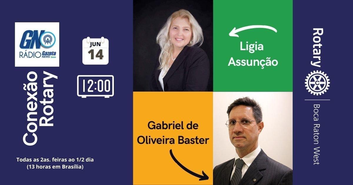 Conexão Rotary com Gabriel de Oliveira Baster