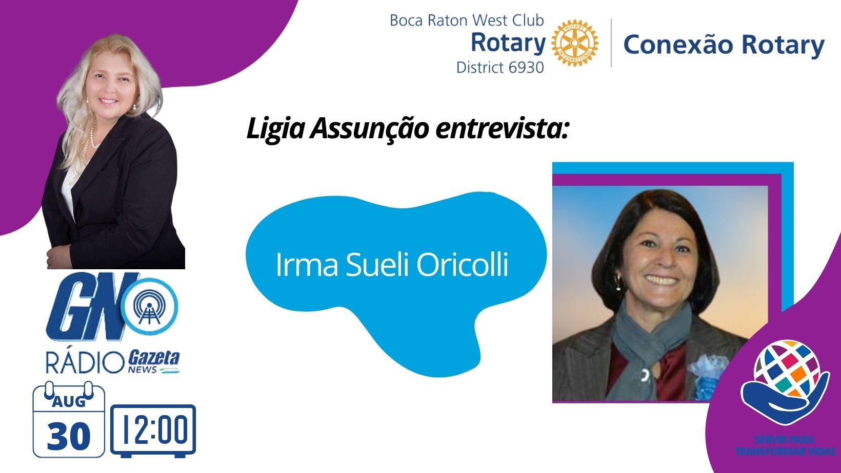 08-30-21 Conexão Rotary